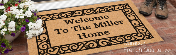 Increase Referrals using The Personalized Doormats Company for your Closing Gifts!
