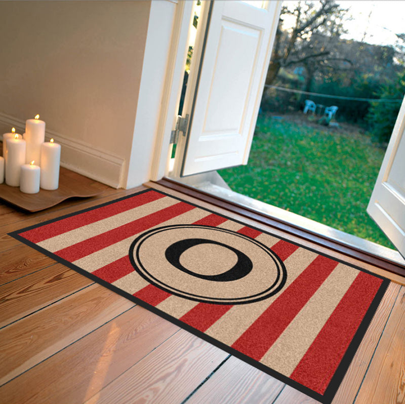 Farmhouse Doormat Red