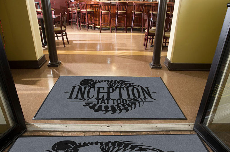 Inception art collective 4 X 6 Rubber Backed Carpeted HD - The Personalized Doormats Company