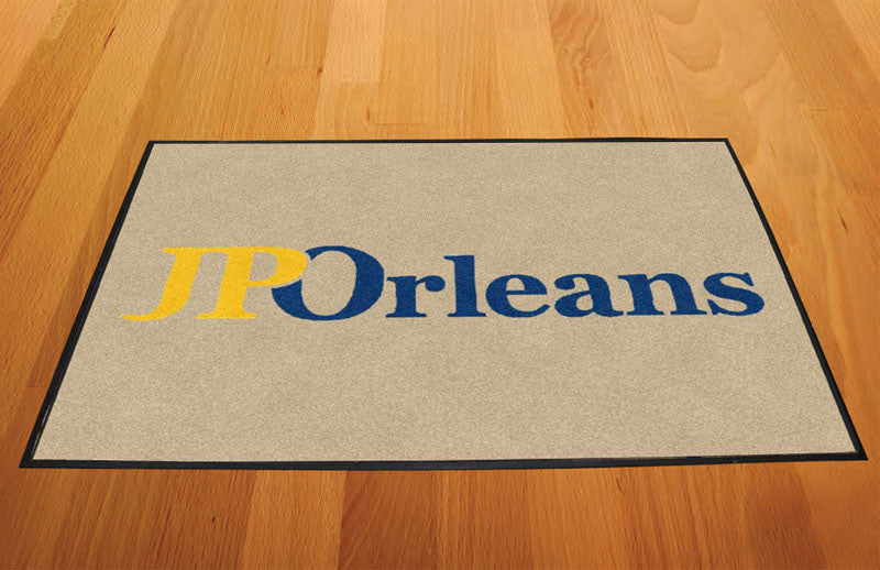 JPOrleans 2 X 3 Rubber Backed Carpeted HD - The Personalized Doormats Company