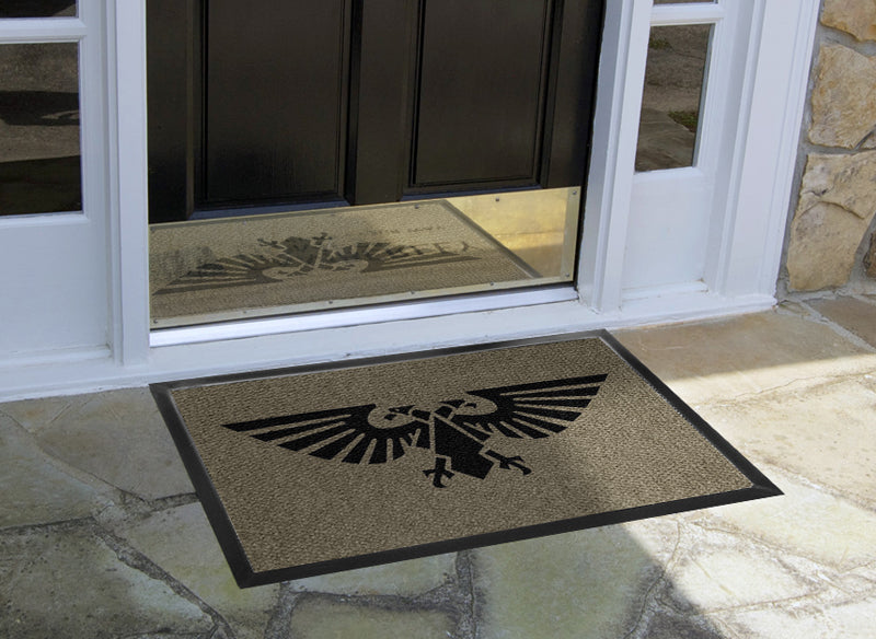 Barn 2 X 3 Luxury Berber Inlay - The Personalized Doormats Company