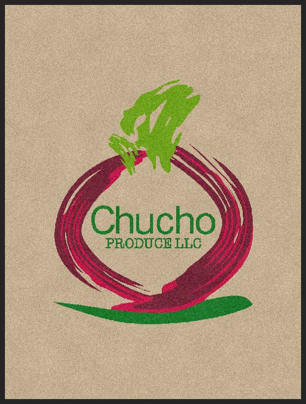 Chucho Produce LLC 3 X 4 Rubber Backed Carpeted HD - The Personalized Doormats Company