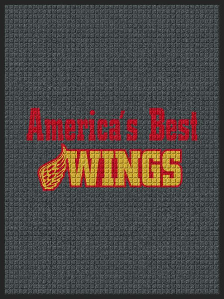 America's Best wings 3 x 4 Waterhog Impressions - The Personalized Doormats Company
