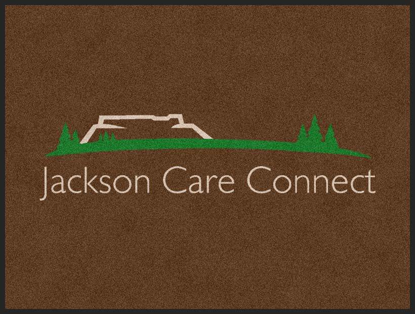 Jackson Care Connect 3 X 4 Rubber Backed Carpeted HD - The Personalized Doormats Company
