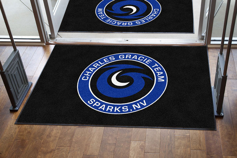 Evolution Martial Arts 4 X 6 Rubber Backed Carpeted HD - The Personalized Doormats Company