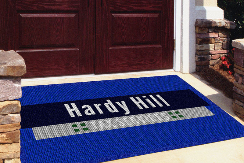 Hardy Hill Tax Service Store Front 4 x 6 Waterhog Impressions - The Personalized Doormats Company