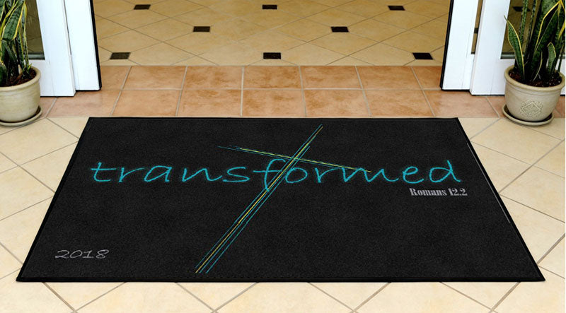 2018 Transformed 3 X 5 Rubber Backed Carpeted HD - The Personalized Doormats Company