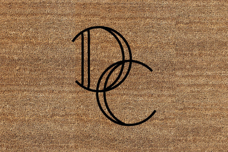 Deep Cove 2 X 3 Flocked Classic Coir (PDC) - The Personalized Doormats Company
