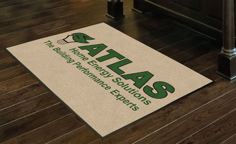 Atlas Home Energy 3 x 4 Rubber Backed Carpeted HD - The Personalized Doormats Company