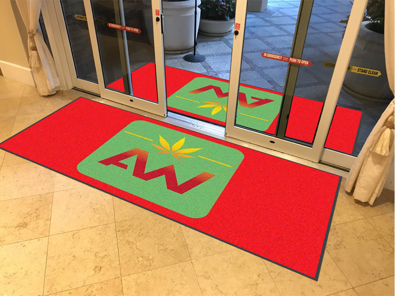 Advanced Wellness 4 X 8 Rubber Backed Carpeted (Americo) - The Personalized Doormats Company