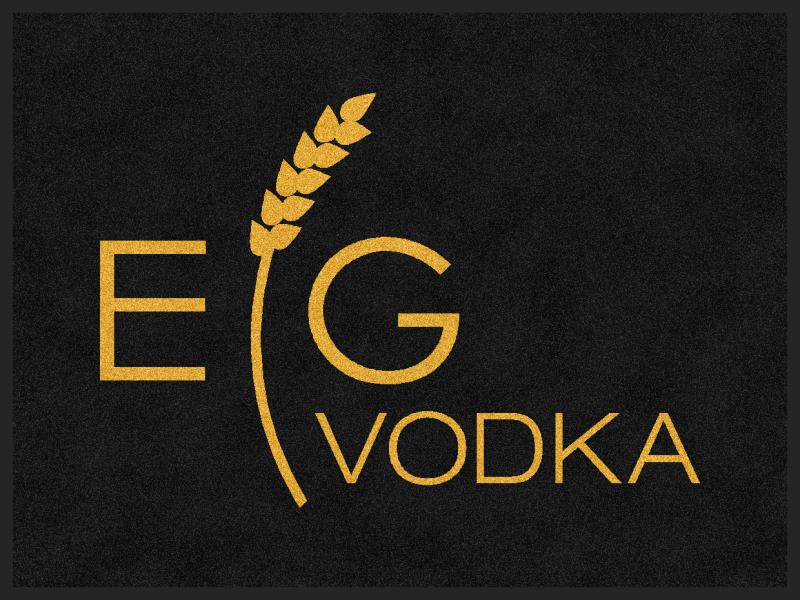 EG Vodka Carpets 3 X 4 Rubber Backed Carpeted HD - The Personalized Doormats Company