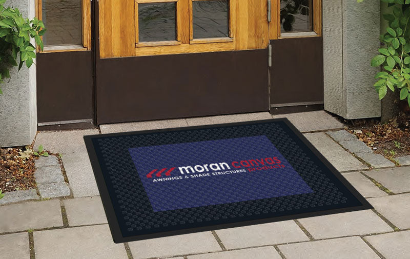 Moran Canvas Logo Mat