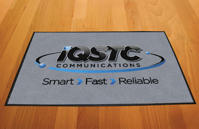 IQSTC 2 X 3 Rubber Backed Carpeted HD - The Personalized Doormats Company