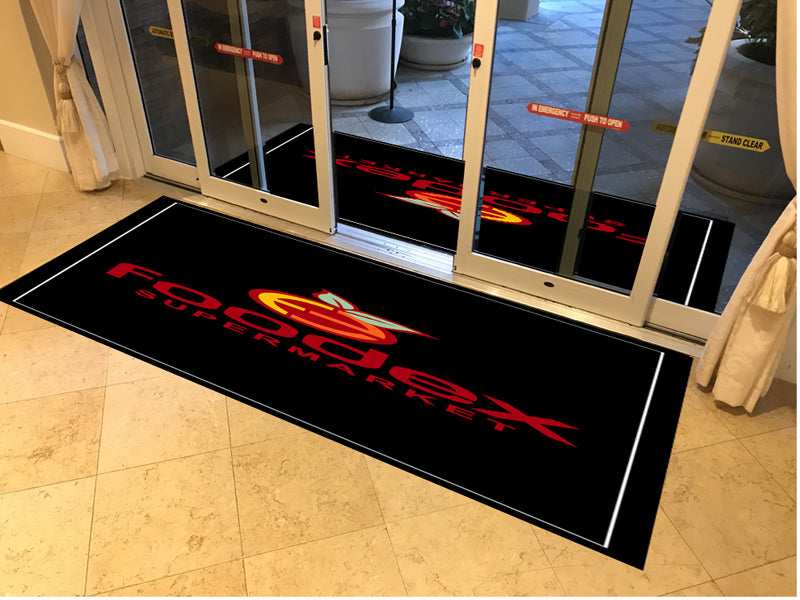 Indoor mat 4 X 8 Rubber Backed Carpeted HD - The Personalized Doormats Company