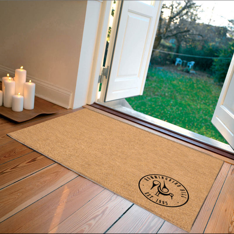 Hummingbird2x3 2 x 3 Flocked Duracoir (PDC) - The Personalized Doormats Company
