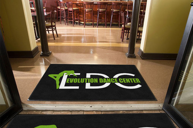 EDC 4 X 6 Rubber Backed Carpeted HD - The Personalized Doormats Company