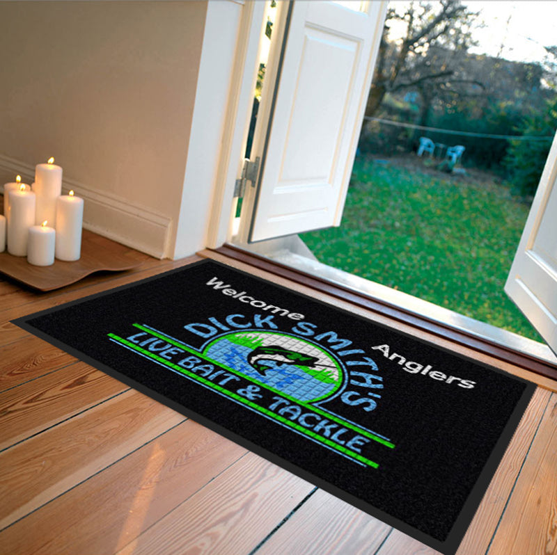 Dick Smith's Live Bait & Tackle 2 X 3 Waterhog Impressions - The Personalized Doormats Company
