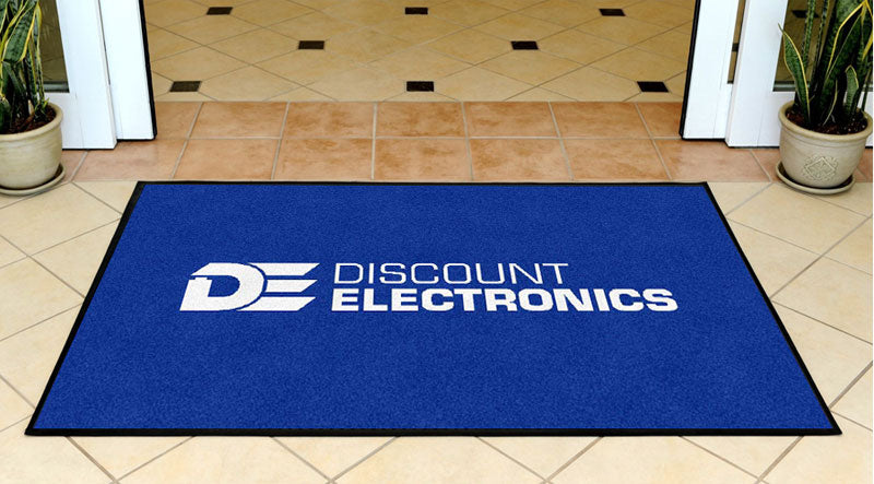 DiscountElectronics-2016-Long 3 x 5 Rubber Backed Carpeted HD - The Personalized Doormats Company