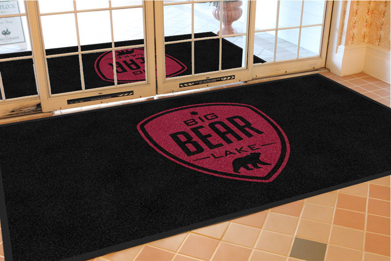Big Bear Lake 4 X 8 Rubber Backed Carpeted HD - The Personalized Doormats Company