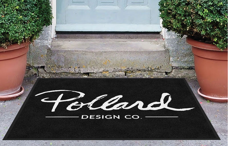 945 Front Street 3.25 X 4.25 Rubber Backed Carpeted - The Personalized Doormats Company