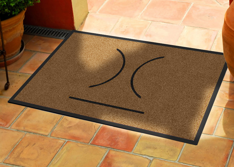 Hurley 2 X 3 Rubber Backed Carpeted HD - The Personalized Doormats Company