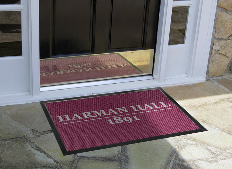 Harman Hall 2 X 3 Luxury Berber Inlay - The Personalized Doormats Company