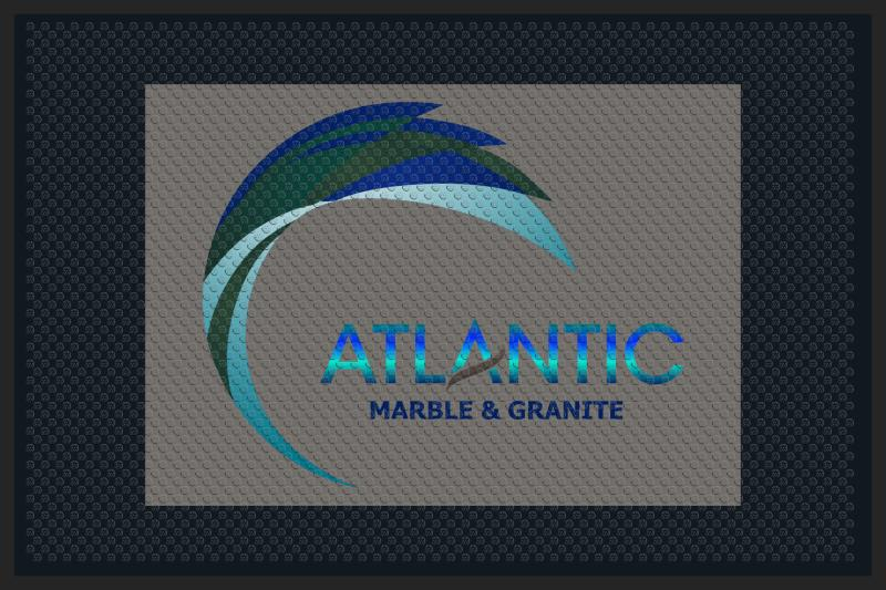 Atlantic Marble and Granite 4 X 6 Rubber Scraper - The Personalized Doormats Company