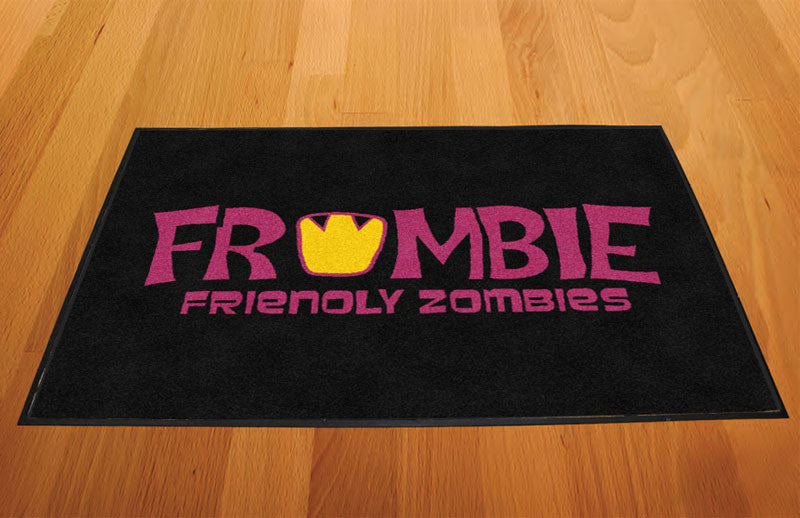 Frombie 2 X 3 Rubber Backed Carpeted HD - The Personalized Doormats Company