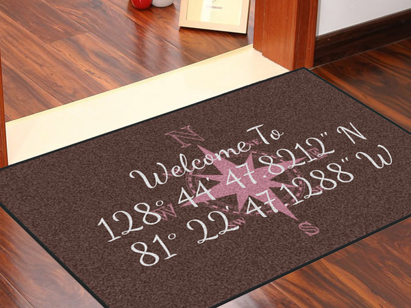 Write Your Own Compass Rose 2' x 3' Doormat