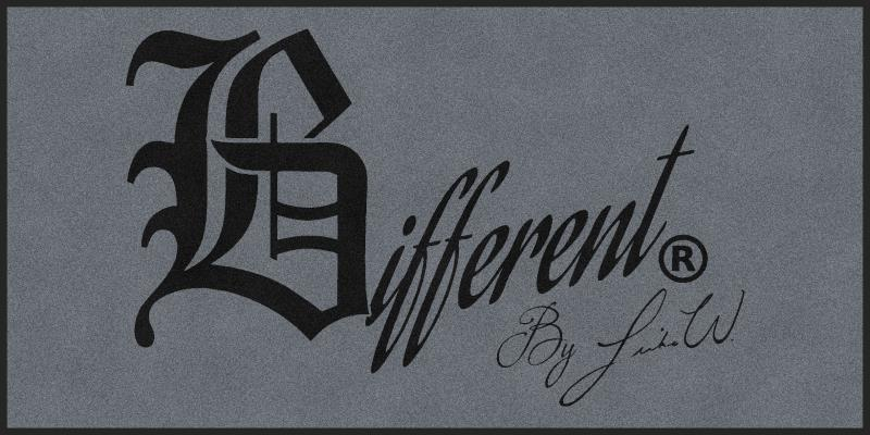 BDifferent LLC 4 X 8 Rubber Backed Carpeted HD - The Personalized Doormats Company