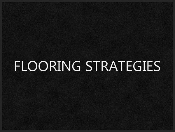 Flooring Strategies 3 x 4 Rubber Backed Carpeted HD - The Personalized Doormats Company