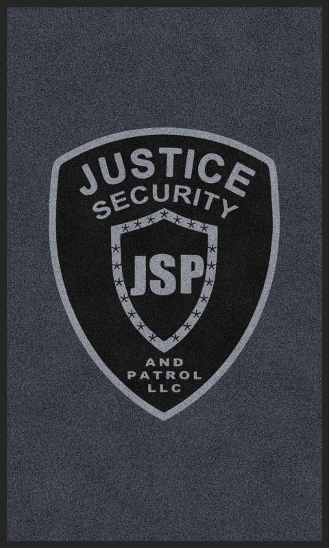 JSP 3 X 5 Rubber Backed Carpeted HD - The Personalized Doormats Company