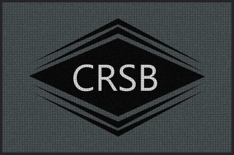 CRSB-Spalding 4 x 6 Waterhog Impressions - The Personalized Doormats Company