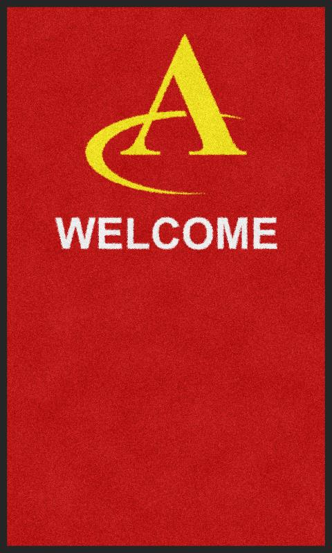 ATC Custom Rug 2017-2 3 X 5 Rubber Backed Carpeted - The Personalized Doormats Company