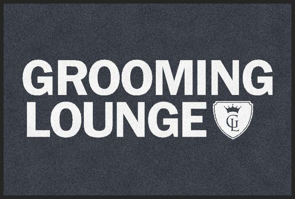 Grooming Lounge 2 X 3 Rubber Backed Carpeted HD - The Personalized Doormats Company
