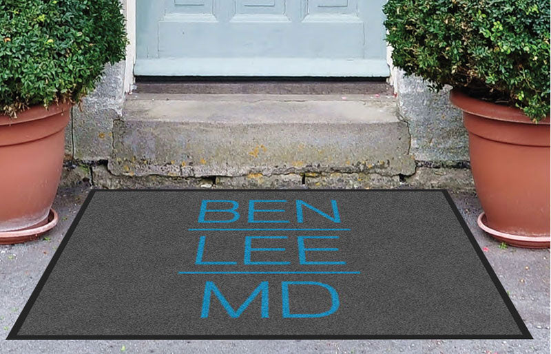 Denver Aesthetic Surgery 3 x 4 Rubber Backed Carpeted - The Personalized Doormats Company