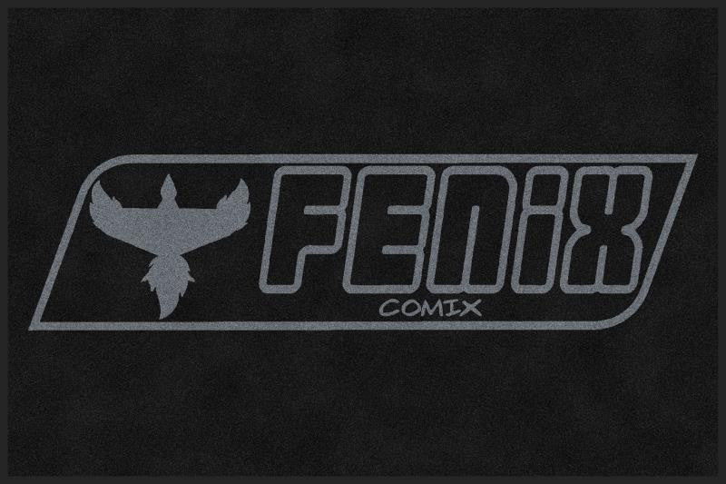 FENIX COMIX MAT 4 X 6 Rubber Backed Carpeted HD - The Personalized Doormats Company