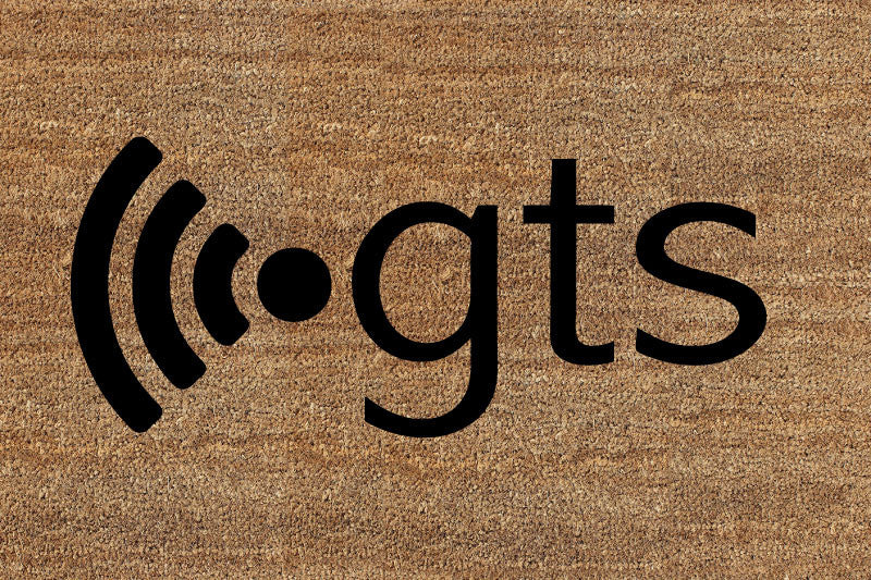 GTS 2 X 3 Flocked Classic Coir (PDC) - The Personalized Doormats Company