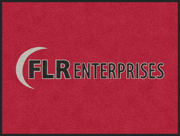 FLR Enterprises 3 x 4 Flocked Olefin 2 Color - The Personalized Doormats Company