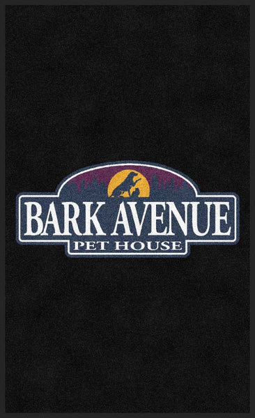 Bark Avenue Pethouse 3 X 5 Rubber Backed Carpeted HD - The Personalized Doormats Company