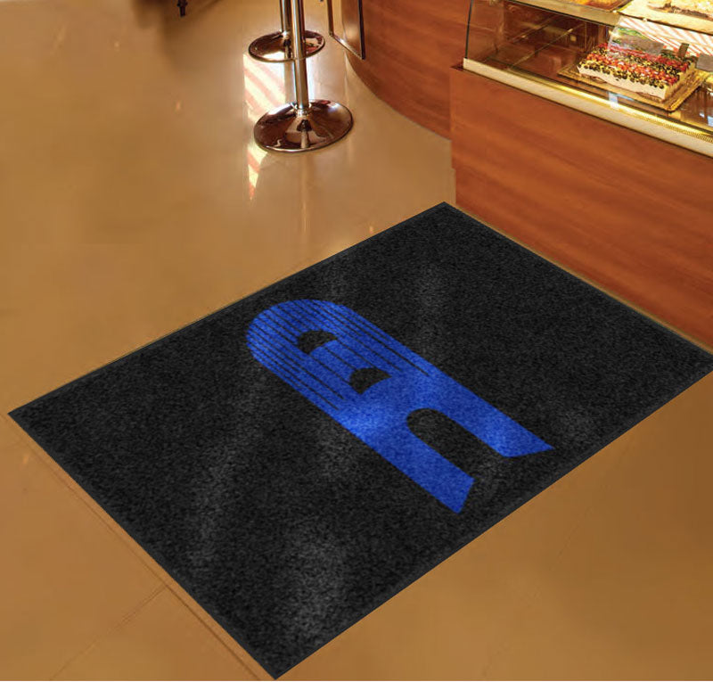 CRYSTAL COLLISION CENTER 3 x 5 Custom Plush 30 HD - The Personalized Doormats Company