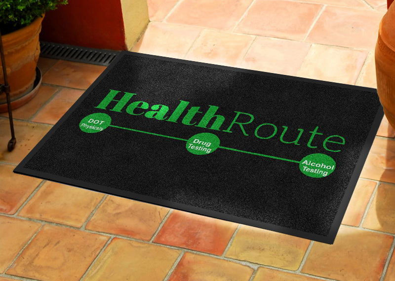 2 X 3 - CREATE -110945 2 x 3 Rubber Backed Carpeted HD - The Personalized Doormats Company