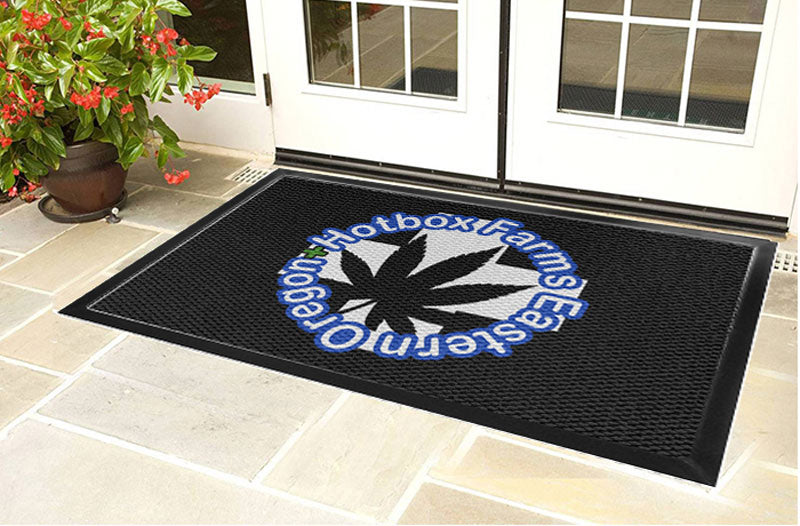 Hotbox Farms 4 X 6 Luxury Berber Inlay - The Personalized Doormats Company