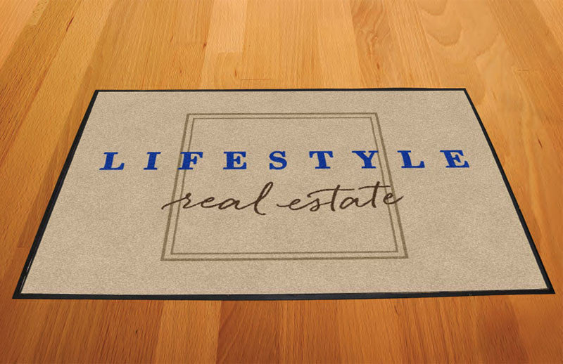 Chico Lifestyle Real Estate 2 X 3 Rubber Backed Carpeted HD - The Personalized Doormats Company