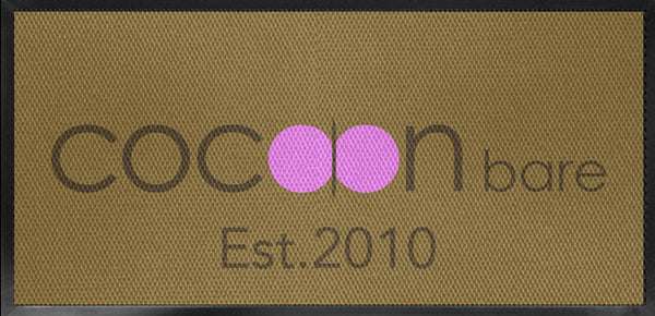 COCOON Bare § 2 X 4 Luxury Berber Inlay - The Personalized Doormats Company