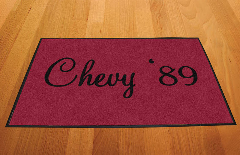 Chevy caprice 2 X 3 Rubber Backed Carpeted HD - The Personalized Doormats Company