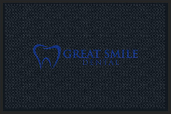 Great Smile Dental 4 x 6 Rubber Scraper - The Personalized Doormats Company