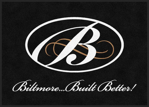 Biltmore door mat : 1 5 X 7 Rubber Backed Carpeted HD - The Personalized Doormats Company
