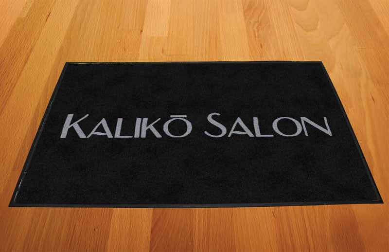 KALIKO SALON 2 X 3 Rubber Backed Carpeted HD - The Personalized Doormats Company