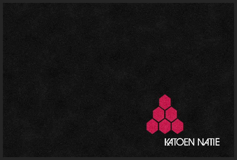 Katoen Natie 2 x 3 Rubber Backed Carpeted HD - The Personalized Doormats Company